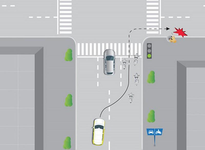 Giáo viên dạy thực hành chạy sai tuyến đường trong Giấy phép xe tập lái bị phạt bao nhiêu?
