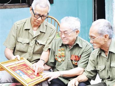 Chế độ nghỉ hưu với người từng có thời gian tham gia quân ngũ
