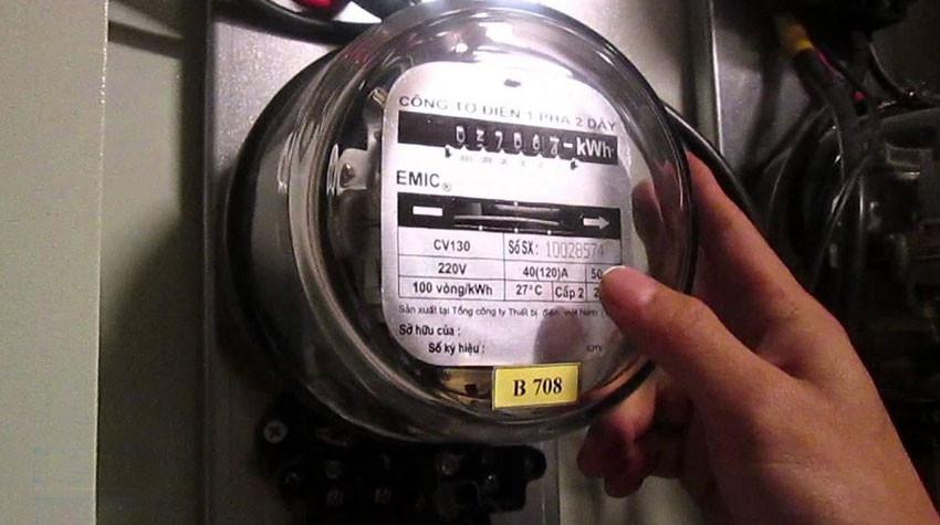 Một nhà dùng 2 công tơ điện có vi phạm không?