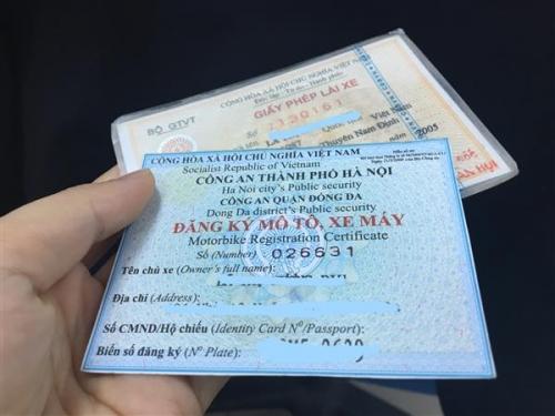 Là sinh viên có được đăng ký xe tại nơi tạm trú không?