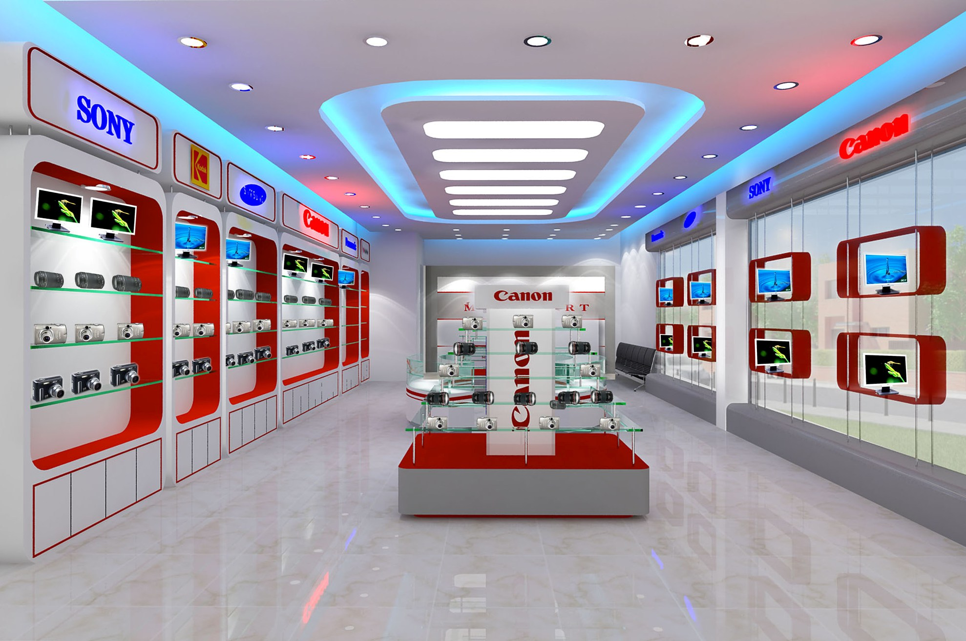 Các hình thức  trưng bày, giới thiệu hàng hóa, dịch vụ