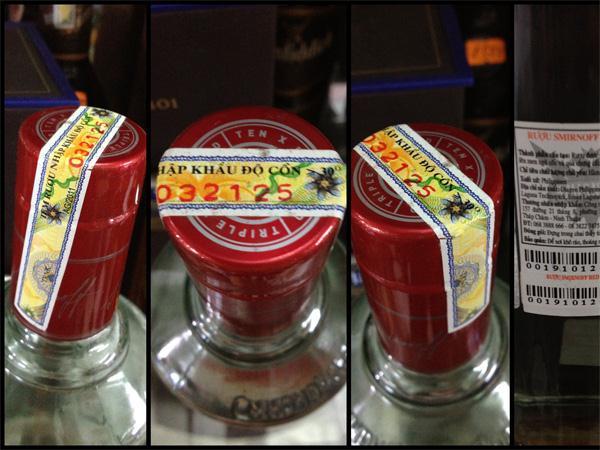 Nguyên tắc dán tem điện tử lên sản phẩm thuốc lá, rượu