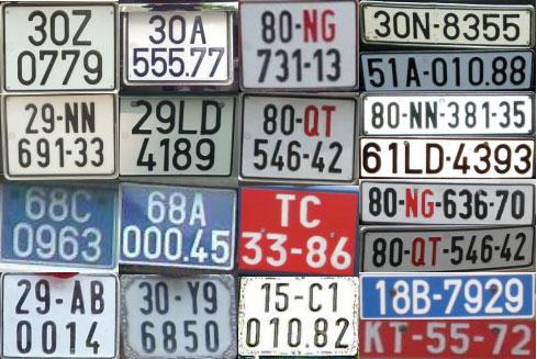 Có bắt buộc phải đăng ký biển số xe ở nơi thường trú không?