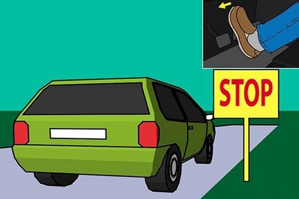 Mức xử phạt đối người điều khiển xe ô tô dừng đột ngột mà không có tín hiệu báo trước